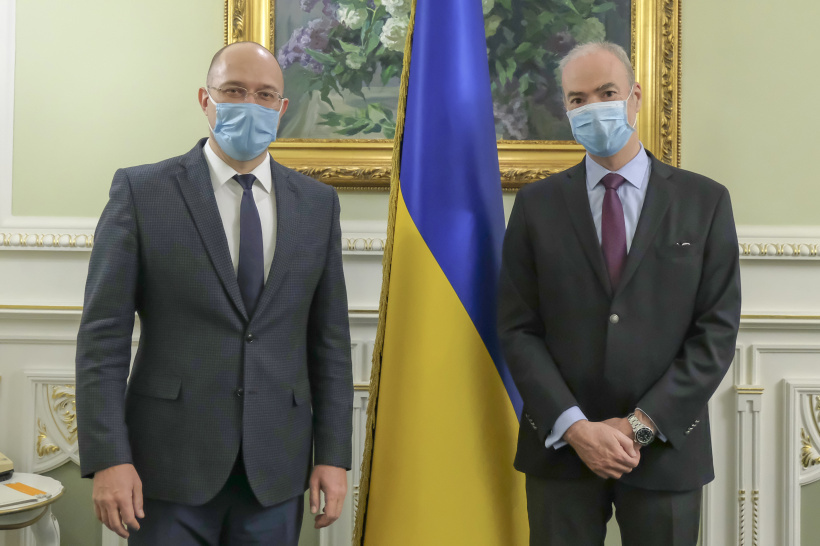 Prime Minister met with Extraordinary and Plenipotentiary Ambassador of France to Ukraine