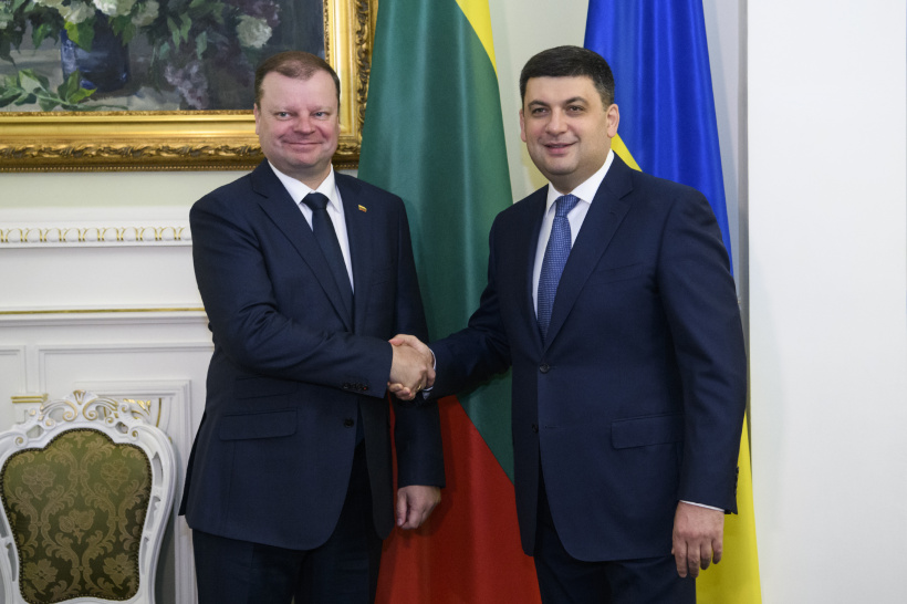 Ukraine and Lithuania note increasing trade turnover and strengthen logistic capabilities - a meeting of Heads of Government of the two States