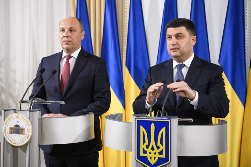 Statement by Prime Minister of Ukraine Volodymyr Groysman at a joint briefing with the Speaker of the Parliament on adoption of the bill on the Anticorruption Court