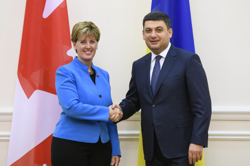 Ukrainian-Canadian trade relations have excellent prospects for development, says Prime Minister of Ukraine during a meeting with Minister of International Development of Canada