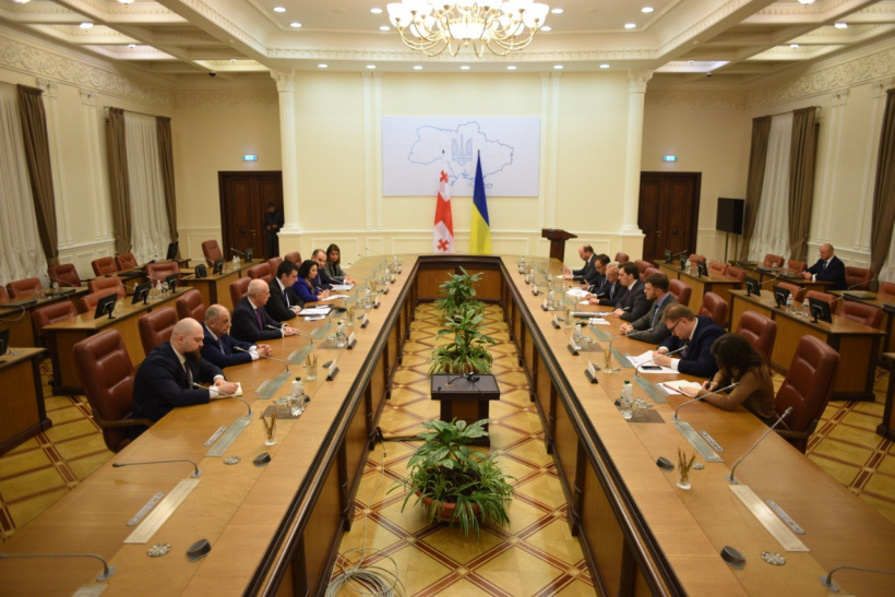 Oleksiy Honcharuk discussed with Prime Minister of Georgia development of transport corridor the Baltic Sea – Black Sea – Caspian Sea