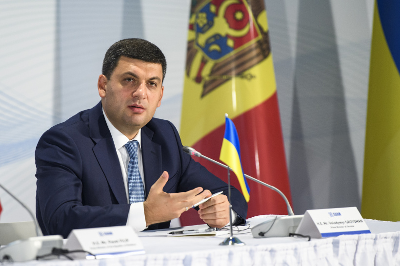 GUAM free trade zone will become a powerful impetus for the economic development of our countries, says Volodymyr Groysman