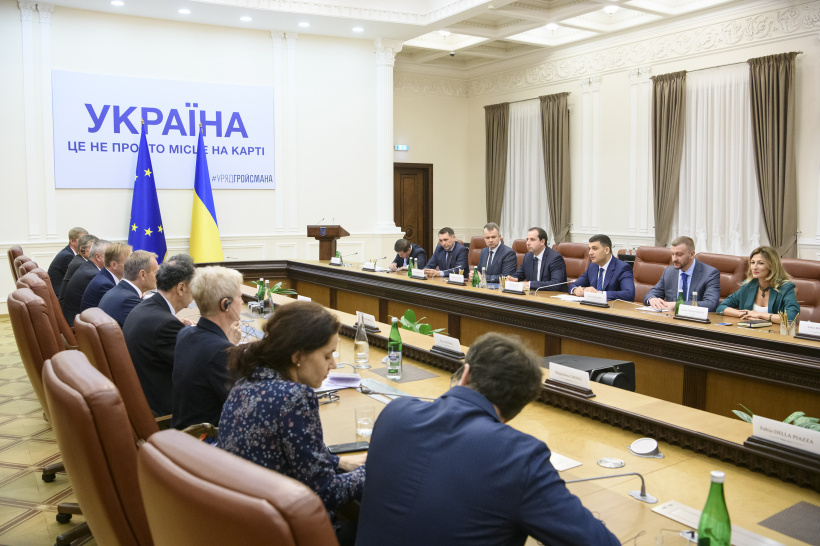 Volodymyr Groysman at a meeting with President of the European Council: The issue of the EU support for Ukraine is a matter of protecting shared values and norms of international law
