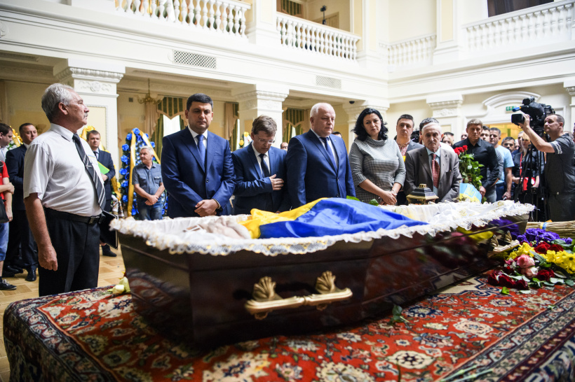 Prime Minister of Ukraine paid tribute to Levko Lukyanenko