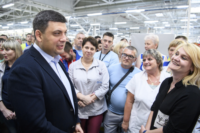 Volodymyr Groysman: We have good economic growth dynamics and we are able to boost them