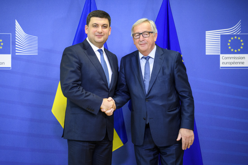 The scope of EU-Ukraine cooperation should be in line with ambitious reform agenda – a meeting of Prime Minister and European Commission President