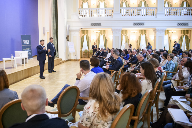 Volodymyr Groysman: Open Government is equivalent to its effectiveness, accountability and opportunity to develop the country