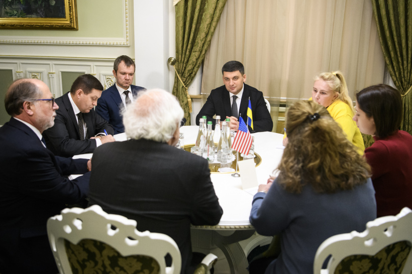 Ukraine appreciates contribution of the U.S. to the recognition of the Holodomor as a genocide of the Ukrainian people, says PM at a meeting with Congressman Sander M. Levin