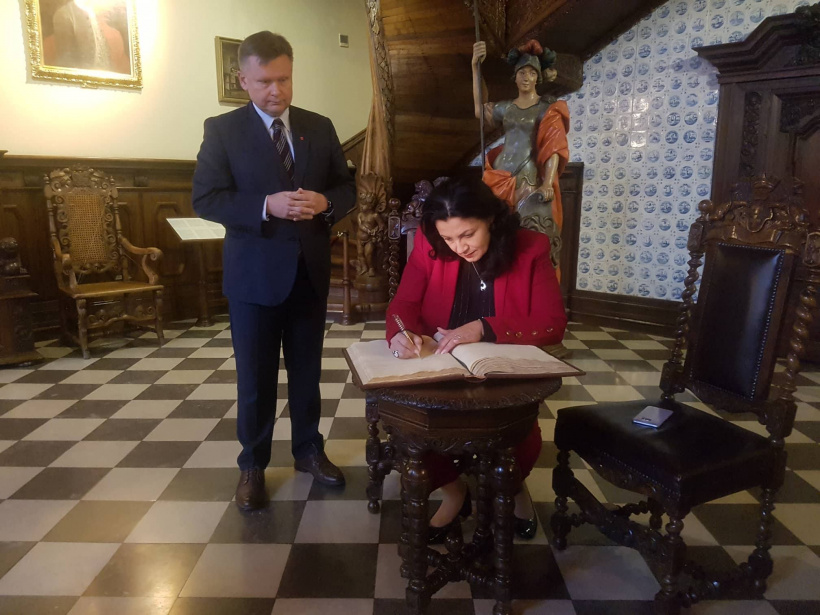 Ivanna Klympush-Tsintsadze met with Ukrainian community of Poland