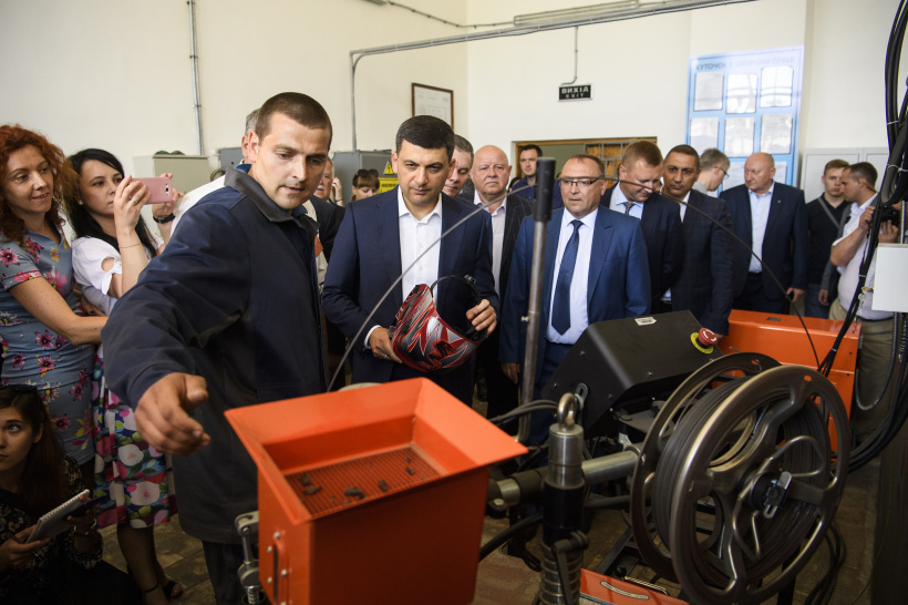 Volodymyr Groysman: Support for vocational training in the context of overall economic growth will contribute to solving employment problems