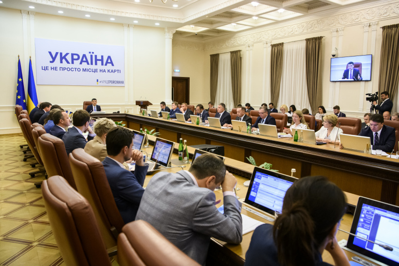 Volodymyr Groysman proposes to set up an interdepartmental group to verify the formula of gas price formation by Naftogaz