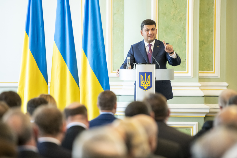 Volodymyr Groysman calls on the heads of the diplomatic missions to join the fight against smuggling