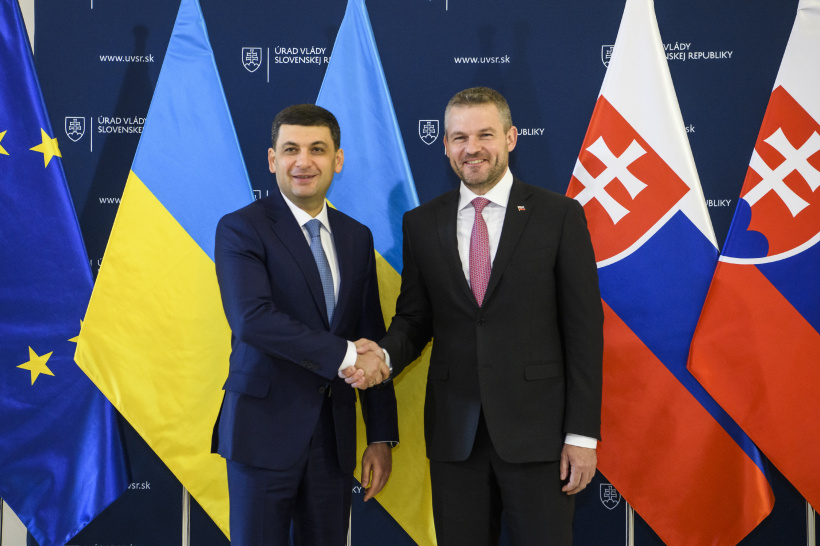 Ukraine and Slovakia express readiness to ramp up reciprocal trade turnover to $1.5 billion and to maintain the status of the main countries providing transit of gas to Europe - outcomes of the meeting of Prime Ministers of two countries