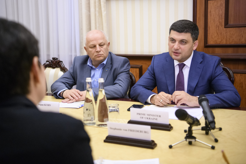 IFC  counts on strengthening cooperation with Ukraine in the private sector and  agribusiness – a meeting of Prime Minister of Ukraine and IFC leadership