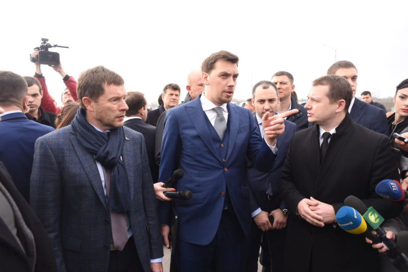 Prime Minister has commissioned to establish round-the-clock weight control on the roads of Zaporizhia region