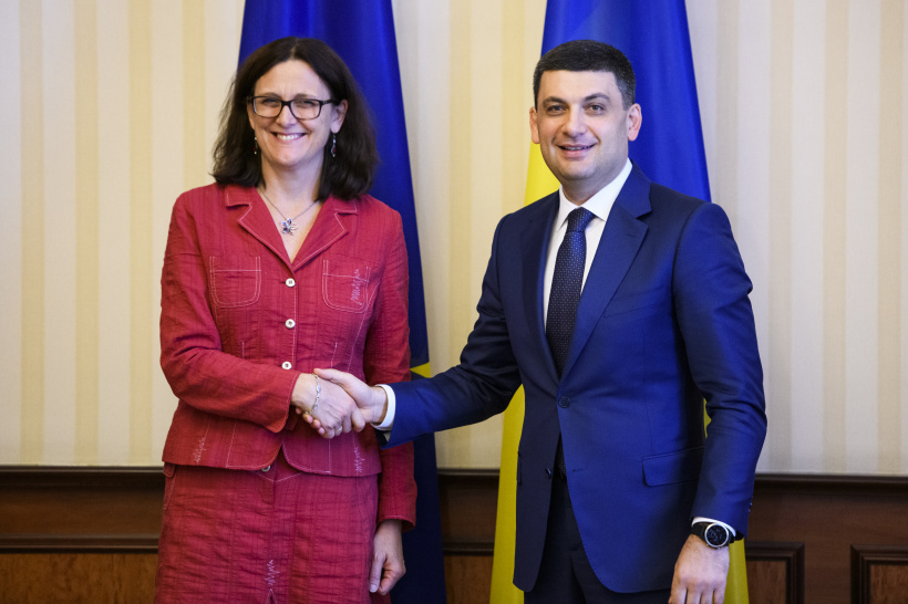 Support for Ukraine and partnership is an undisputed priority for the EU – a meeting of Prime Minister of Ukraine and European Commissioner for Trade