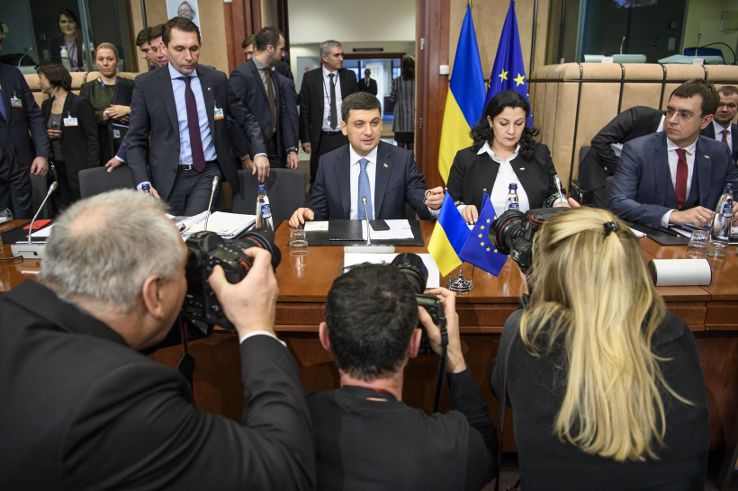 We are implementing fundamental reforms amid Russia's third front against us, says Volodymyr Groysman during the EU-Ukraine Association Council