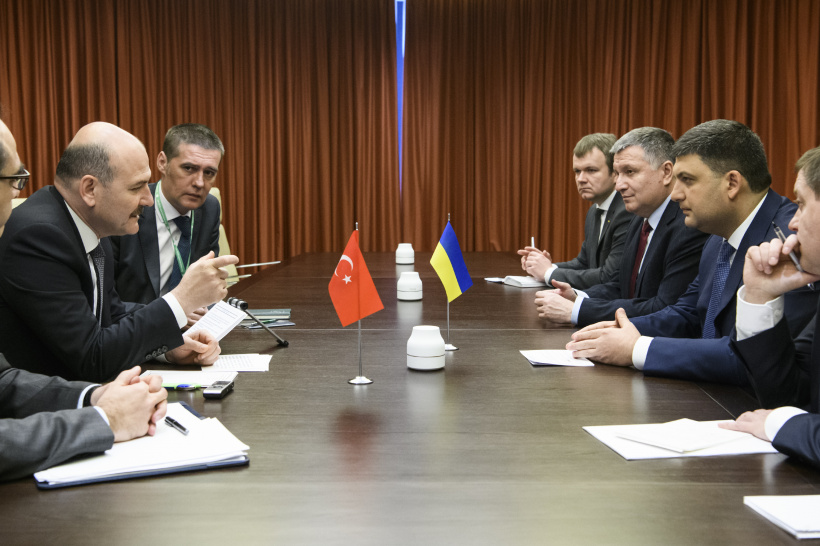 Ukraine and Turkey express readiness to intensify the implementation of joint projects in the energy and aviation sectors - a meeting of Prime Minister of Ukraine with Minister of Interior of Turkey