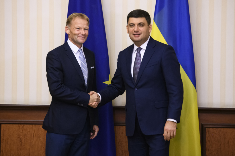 Ukraine and EIB discuss prospects for enhanced cooperation in innovative, education and infrastructure sectors - a meeting of Prime Minister and Vice-President of the EIB