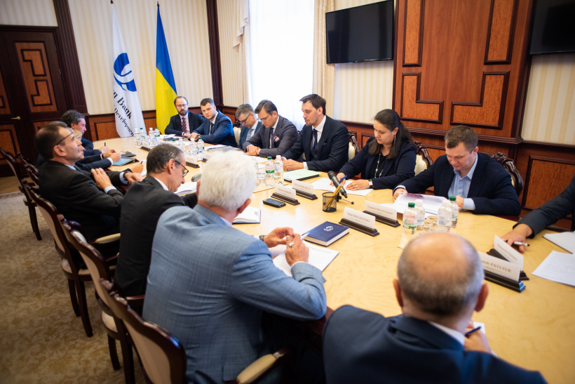 Prime Minister Oleksiy Honcharuk meets with delegation of European Bank for Reconstruction and Development