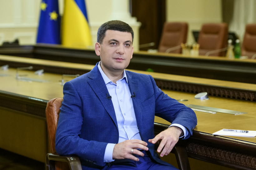 The middle class is an educator, doctor, military and entrepreneur, says Volodymyr Groysman