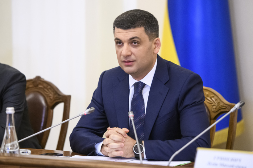 Volodymyr Groysman about water supply in Donbas: A number of decisions were made to allow finding the solution to this vital problem for people