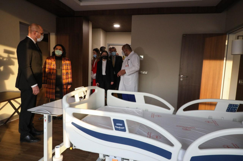 Denys Shmyhal: Ukrainian specialists will study the experience of building modern city hospitals in Turkey