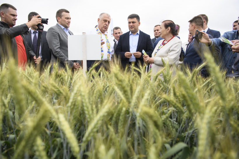 We are able to double volumes of agricultural production, says Volodymyr Groysman