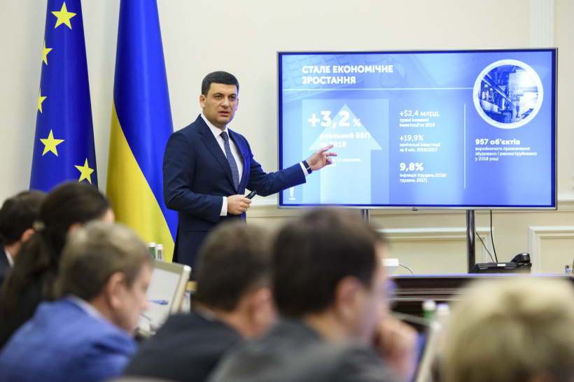 Volodymyr Groysman: Last year became a year of significant developments in human capital development