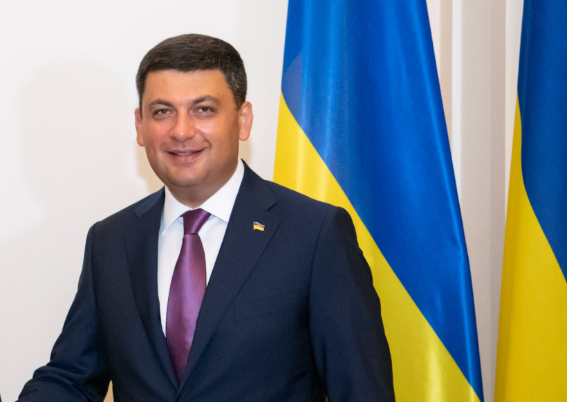 Congratulation by Prime Minister of Ukraine Volodymyr Groysman on Christmas