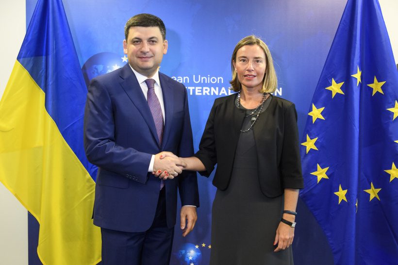 Official Kyiv counts on the continuation of EU sanctions policy against aggressor country – a meeting of Prime Minister of Ukraine and  High Representative of the EU for Foreign Affairs and Security Policy