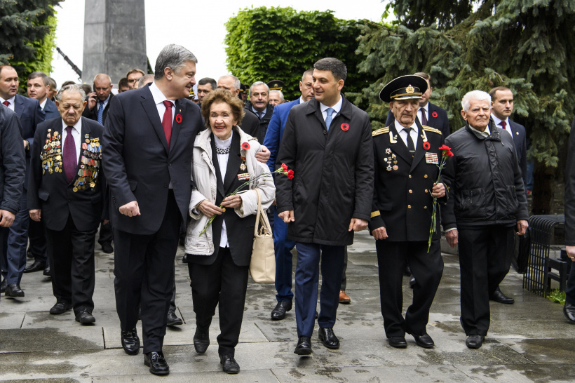 Prime Minister took part in events on the occasion of the 74th anniversary of the victory over Nazism