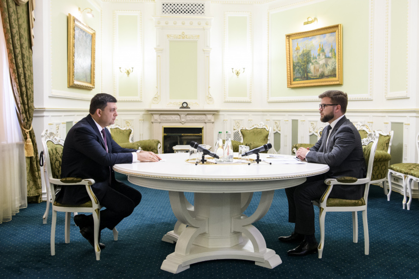 The railway line to Boryspil airport will be built in time – a meeting of PM and acting Chairman of PJSC Ukrzaliznytsia