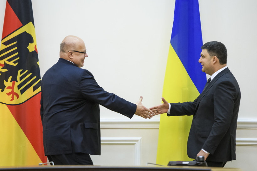 Germany sees Ukraine as a reliable gas transit country and important partner in Eastern Europe - a meeting of PM and Federal Minister for Economic Affairs and Energy