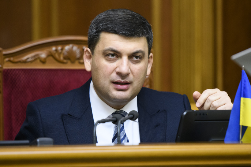 Volodymyr Groysman stands for retrofitting coal industry