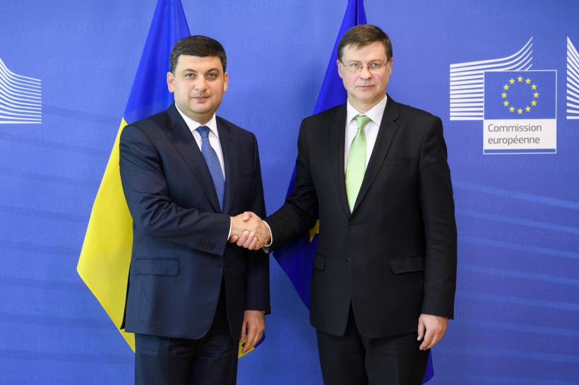 Prime Minister: Ukraine welcomes a proposal of European Commission for a fourth MFA programme and is interested to enshrine it in legislation