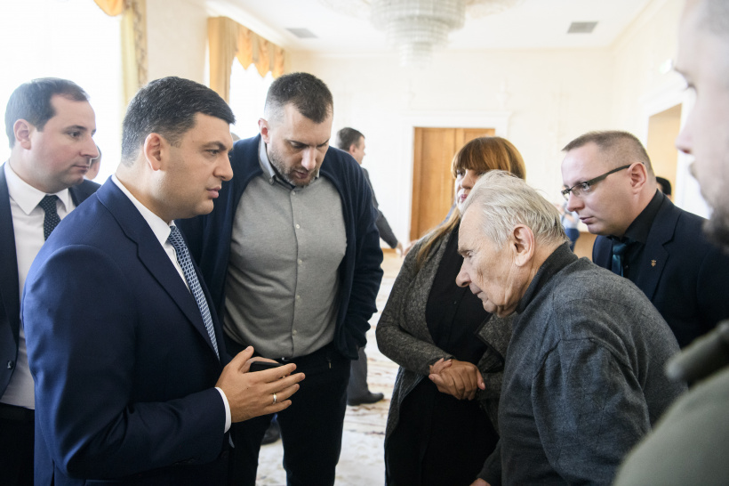 Volodymyr Groysman advocates for reforming the State Service for Veterans and strengthening the state policy on social protection of this category of citizens