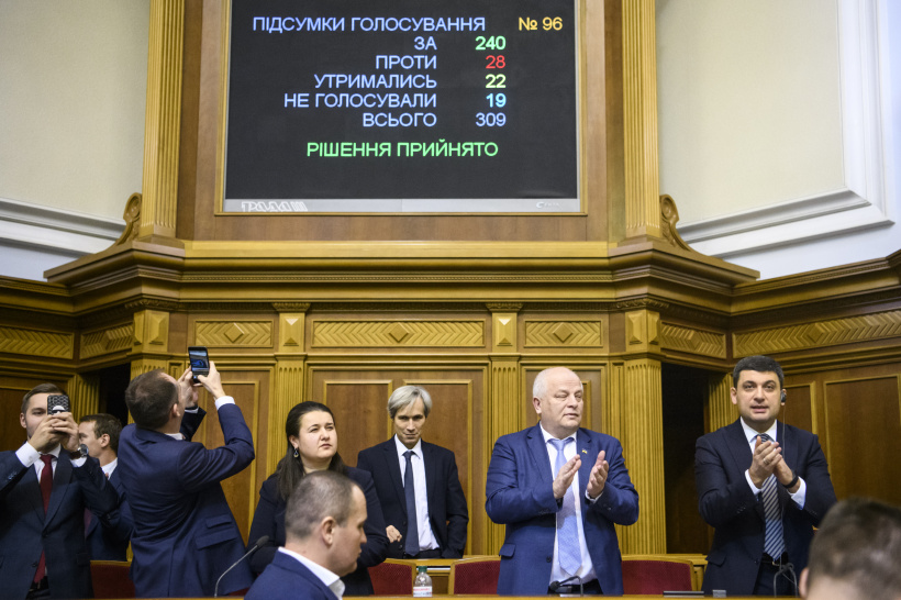 Verkhovna Rada of Ukraine approved the draft State Budget for 2019 elaborated by the Gov't