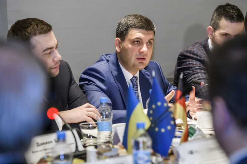 Prime Minister at a meeting with representatives of German-Ukrainian Chamber of Industry and Commerce: Ukraine is going through the golden years in terms of business development