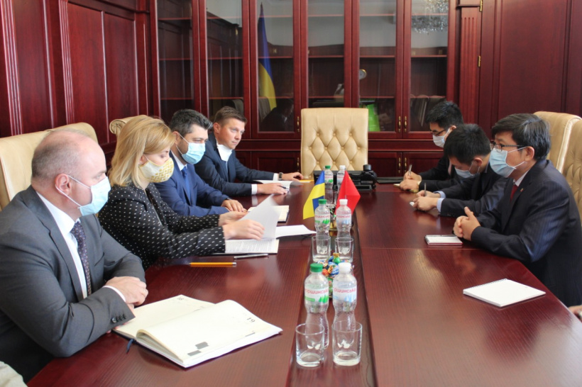 Olha Stefanishyna: A meeting of Ukraine-China Commission on Cooperation is important to hold by the end of 2020