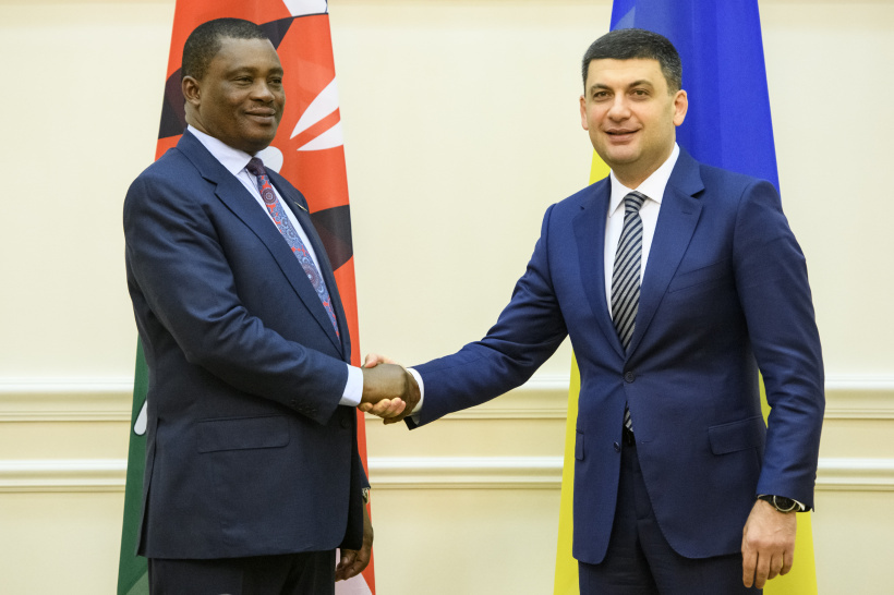 Kenya expresses readiness to become gateway to Eastern and Southern Africa for Ukraine – a meeting of Prime Minister of Ukraine and Speaker of the Parliament of Kenya