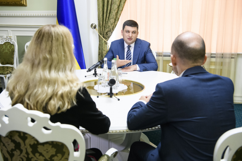 Prime Minister of Ukraine met with leaders of the Ministry of Healthcare