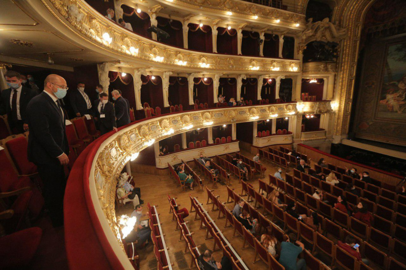 Prime Minister visited Lviv National Academic Theatre of Opera and Ballet on occasion of its 120-th anniversary