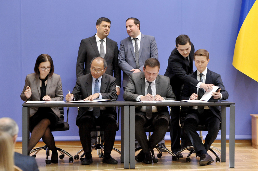 Volodymyr Bondarenko signed a Memorandum on strategic partnership and cooperation in the civil service sector