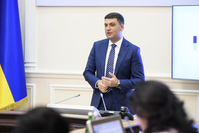 320 kindergartens have been opened and 5,600  schools have been upgraded over recent years, says  Volodymyr Groysman