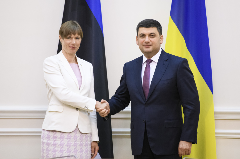 Estonia demonstrates solidarity with Ukraine and support for reforms - a meeting of Prime Minister with the President of Estonia