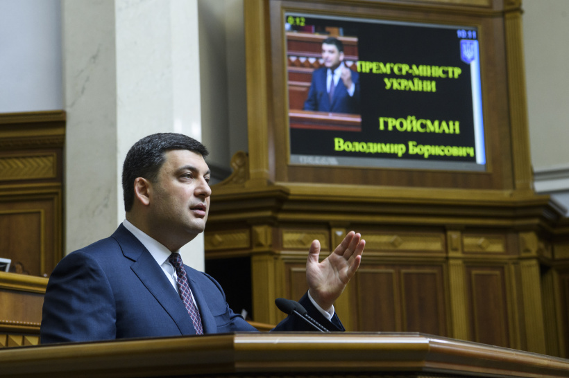 Volodymyr Groysman vows his policy is not empty rhetoric but action-oriented measures