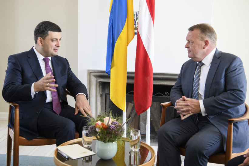 Prime Ministers of Ukraine and Denmark stand ready to give momentum to economic cooperation and to vigorously collaborate in counteraction aggression - a meeting of Prime Ministers