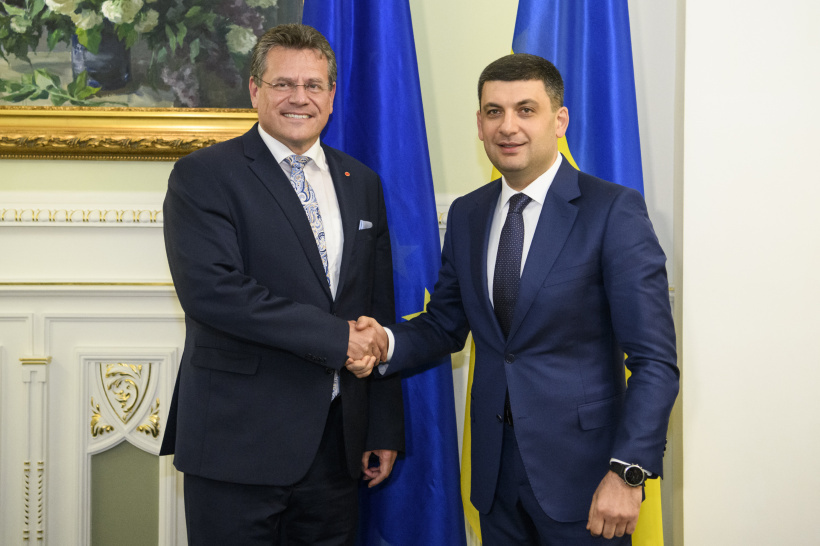 Government is considering further steps to bring the Ukrainian GTS in line with the EU standards, says Volodymyr Groysman during a meeting with Maroš Šefčovič