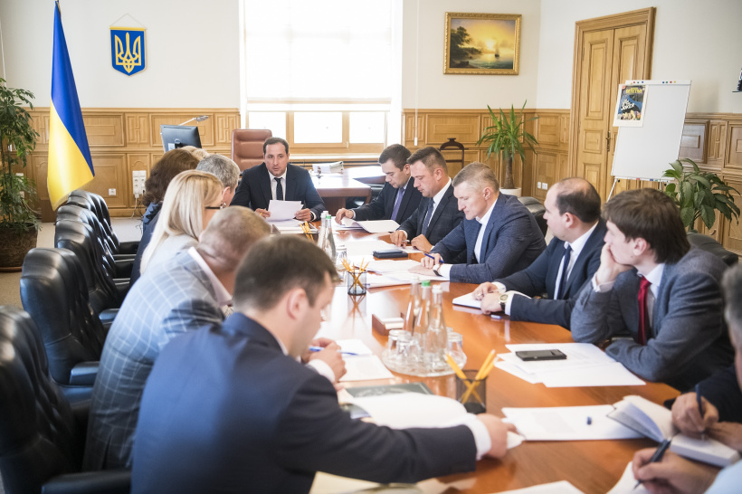 Oleksandr Saienko held a meeting on the first results of inspections of forestry enterprises